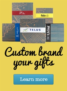 Custom brand your gifts