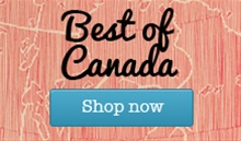 Best of Canada gift baskets