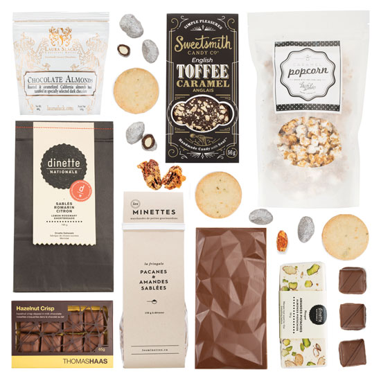 A selection of Canadian artisan confections