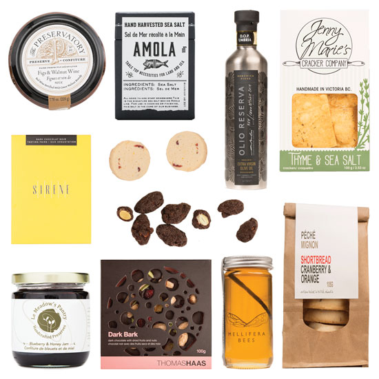 Gourmet food gift ideas full of Vancouver treats
