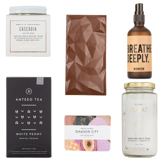 Gifts ideas for her | spa gift basket Canada
