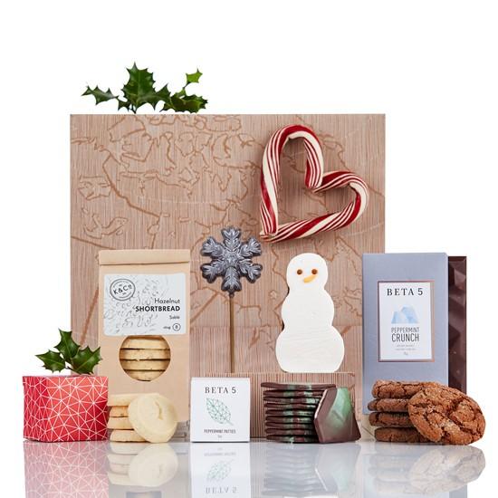 Corporate Christmas Gifts.The Charlatan Christmas Gift Basket Holiday Gift Baskets