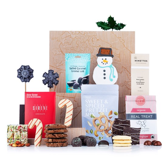 Sweet Tooth Xmas Gift Basket