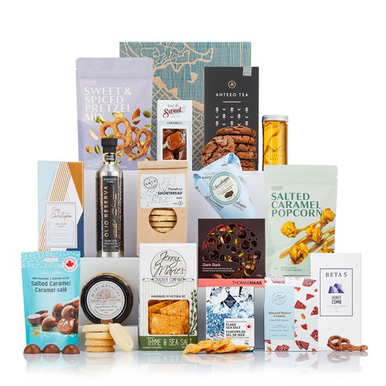 Vancouver Foodie gift basket
