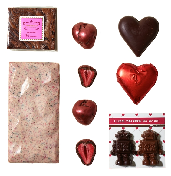 Vancouver Valentine's Day chocolate gift by Saul Good Gift Co.