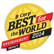 B Corp Best for the World 2014