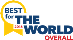 Best For The World 2016 B Corporation